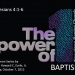 The Power of ONE: Baptism