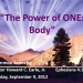 The Power of ONE: Body