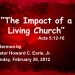 The Impact of a Living Church